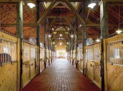 Stunning stables