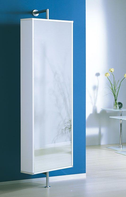 Drehbare Wandgarderobe Und Schuhschrank Mit Spiegel Garderoben