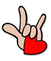 Download Resultado de imagen de lenguaje de señas te amo | Asl sign ...