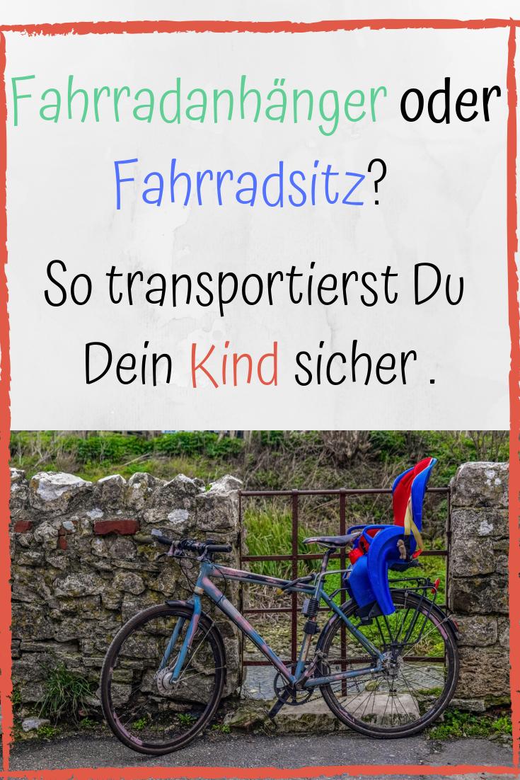 Fahrradanhanger Oder Fahrradsitz So Transportierst Du Dein Kind