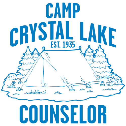 3a6ffd412432 Camp Crystal Lake Counselor T-shirt