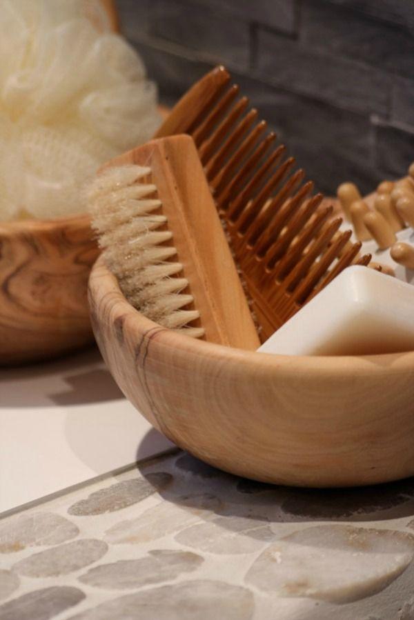 badkamer-accessoires-hout | For the Home | Pinterest | Bath ...