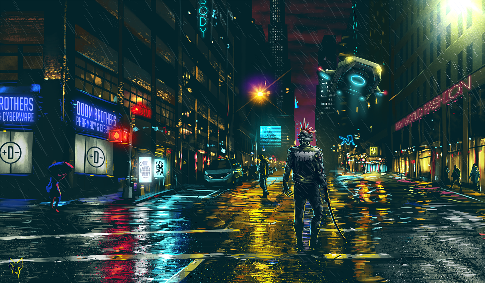 Cyberpunk Wallpaper 2 Album On Imgur Cyberpunk City Cityscape Futuristic City