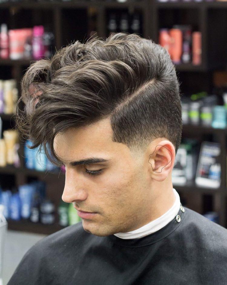50 Statement Medium Hairstyles For Men Medium Hair Styles Mens Hairstyles Medium Side Part Haircut