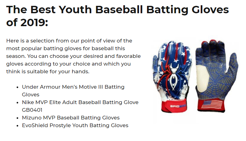 Best Youth Baseball Batting Gloves (What's our pick