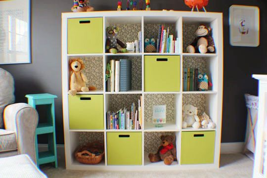 52 Brilliant And Smart Kids Rooms Storage Ideas 2