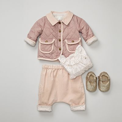 the cutest pink outfit for baby...