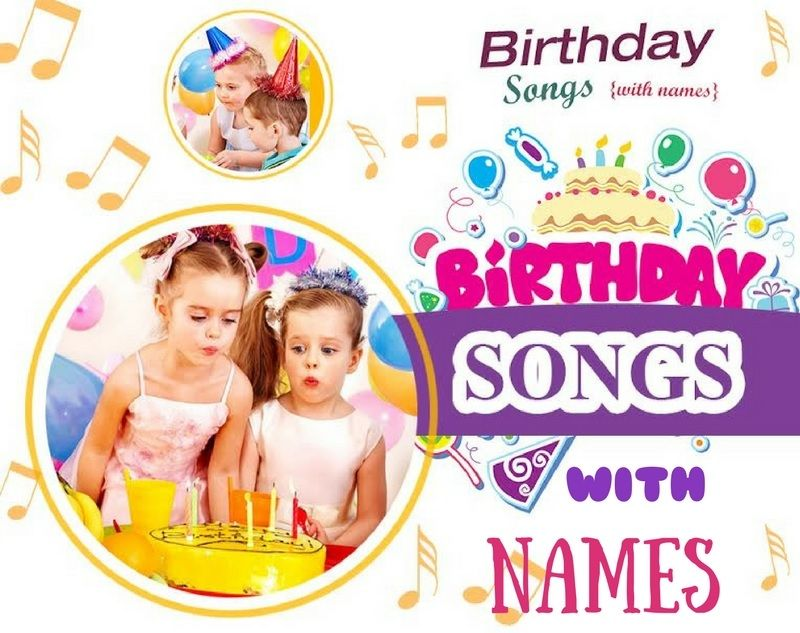 Birthday Songs are fun and unique! And now they can also include