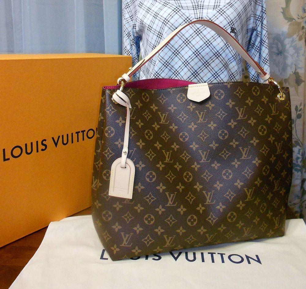 0bcb0a6af222 AUTHENTIC LOUIS VUITTON GRACEFUL MM MONOGRAM 2018 BNWB  purses  fashion