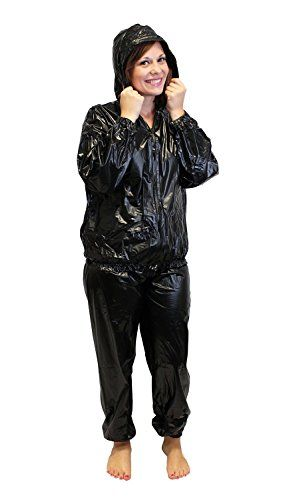 Sauna suit with hood xxl lose weight fast use while running or sauna suit with hood xxl lose weight fast use while running or during workout ccuart Choice Image