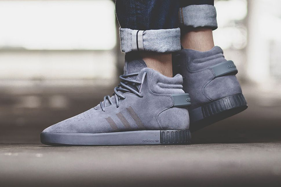 The adidas Tubular Invader Gets Another Monochromatic Finish •  KicksOnFire.com. Adidas StoresGrey SneakersSneakers ...