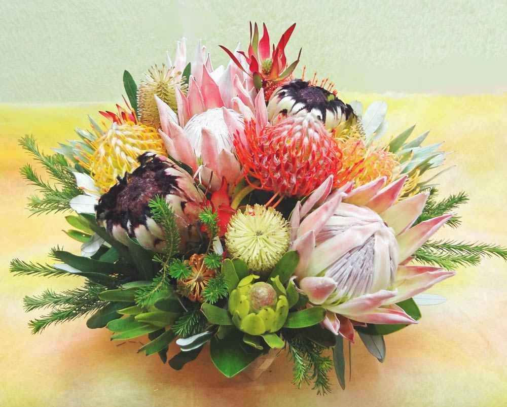 Exotic flowers bouquet | Bouquets, flower arrangement, flower ...