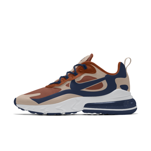 Air Max 270 React By You Custom Shoe in 2020 | Nike, Air max