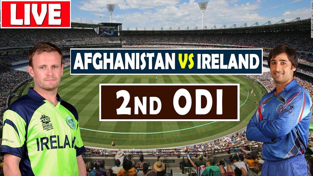 Ireland vs Afghanistan Live Cricket Live cricket