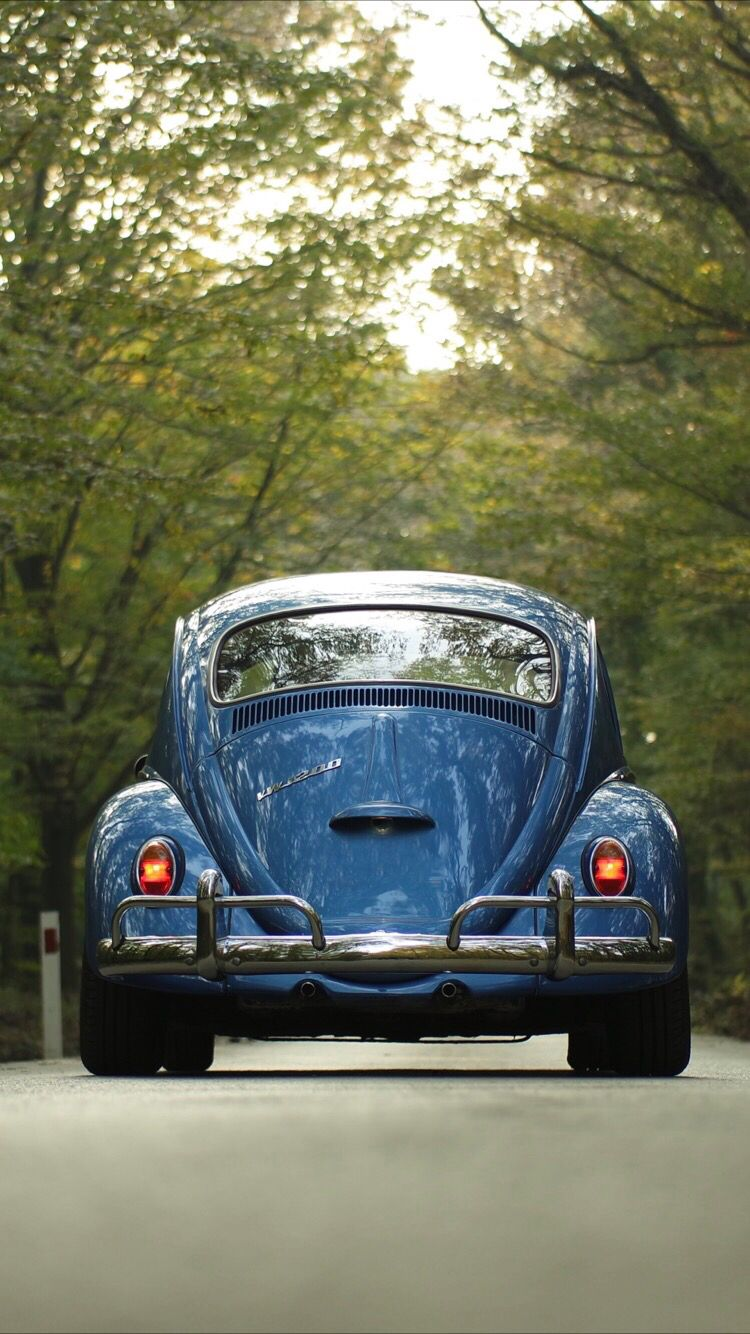 Retro Car Wallpaper For Your Iphone Xs Max From Everpix Fusca