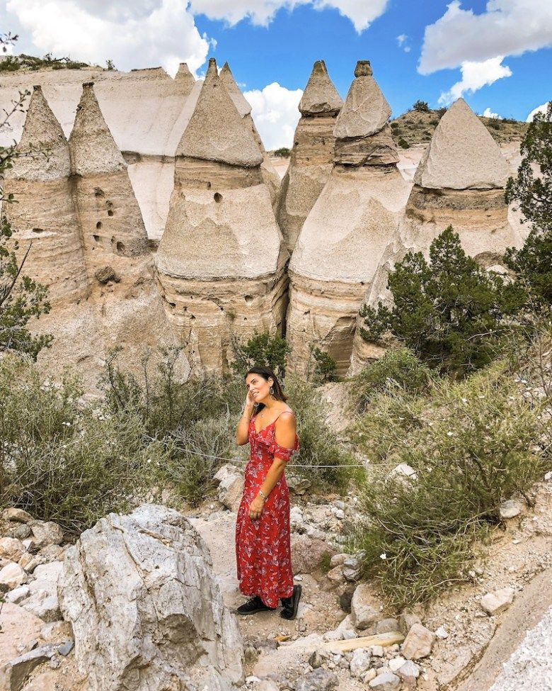 Things To Do In Santa Fe Nm: Tent Rocks New Mexico, White