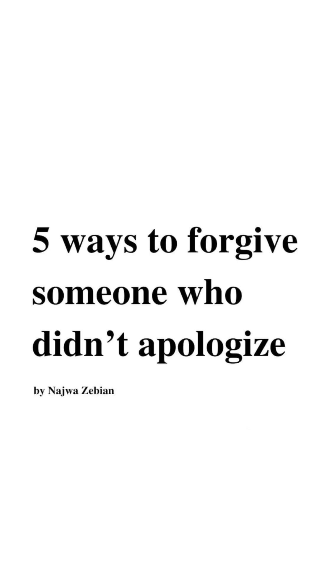 Don't let others ppls opinions, words, or the I'm sorry you never got,  keep you prisoner