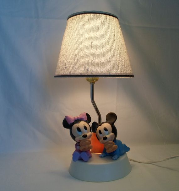 Vintage Walt Disney Babby Micky and Minnie by alsredesignvintage, Etsy