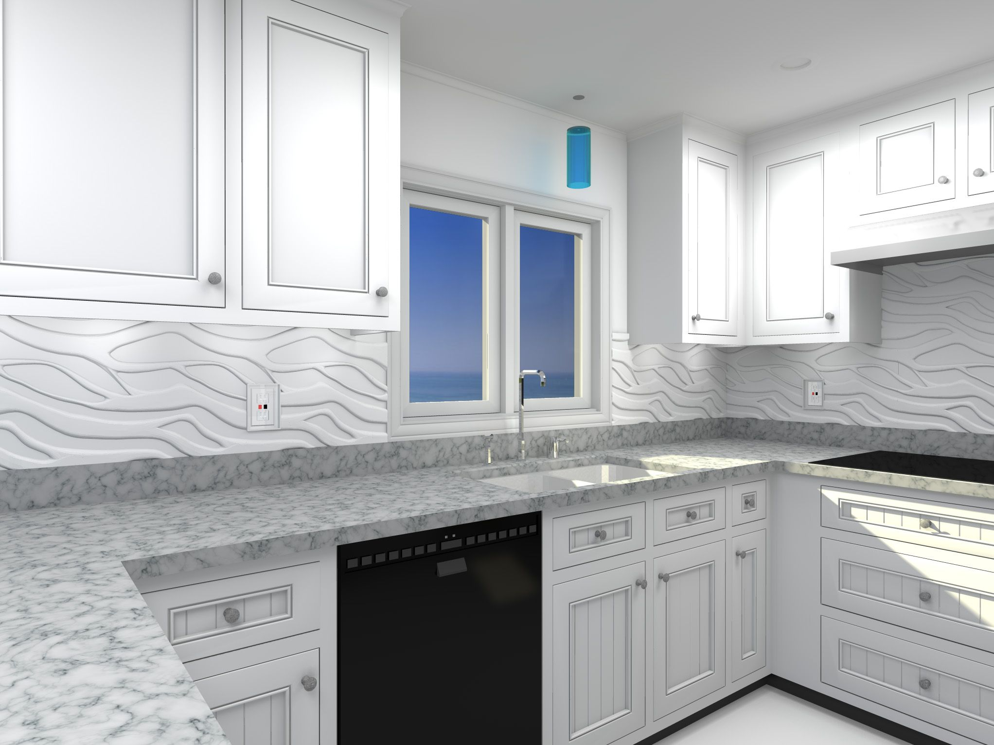 3d Wall Panels As A Backsplash   Google Search