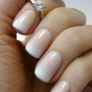 French Elegance Manichiura French Unghii Mireasa Mat Nails Feet