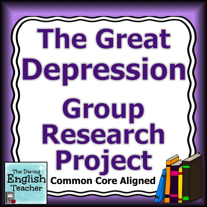 great depression group research project high school students  great depression group research project