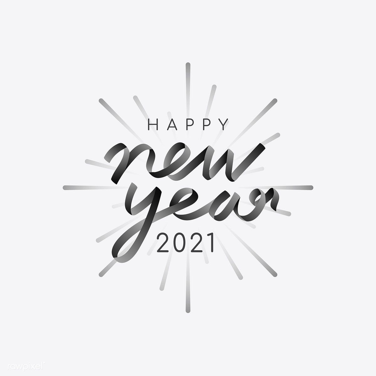 Happy New Year 2021 Vector Free Image By Rawpixel Com Ningzk V New Year Clipart Happy New Year Images New Year Doodle