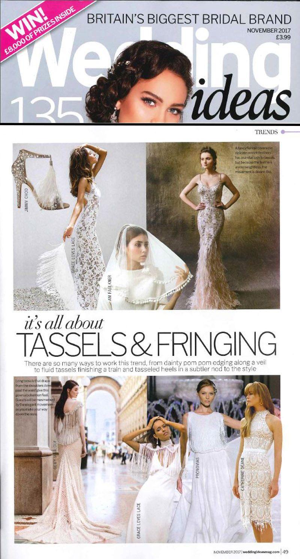 Catherine Deane In You Wedding Ideas Magazine Grace And Lace Tassel Fringe Tasseled