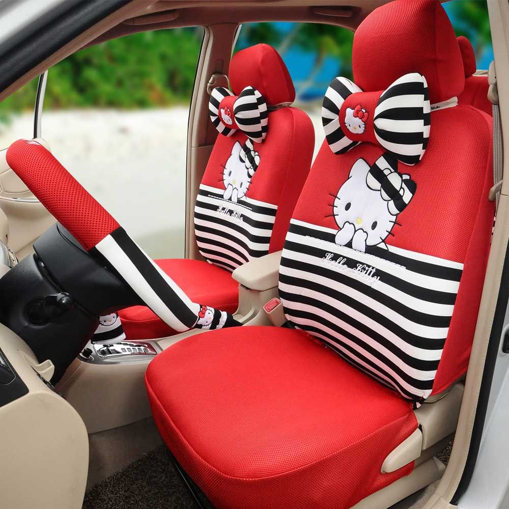 Compare Prices On Black Hello Kitty Car Seat Covers Online