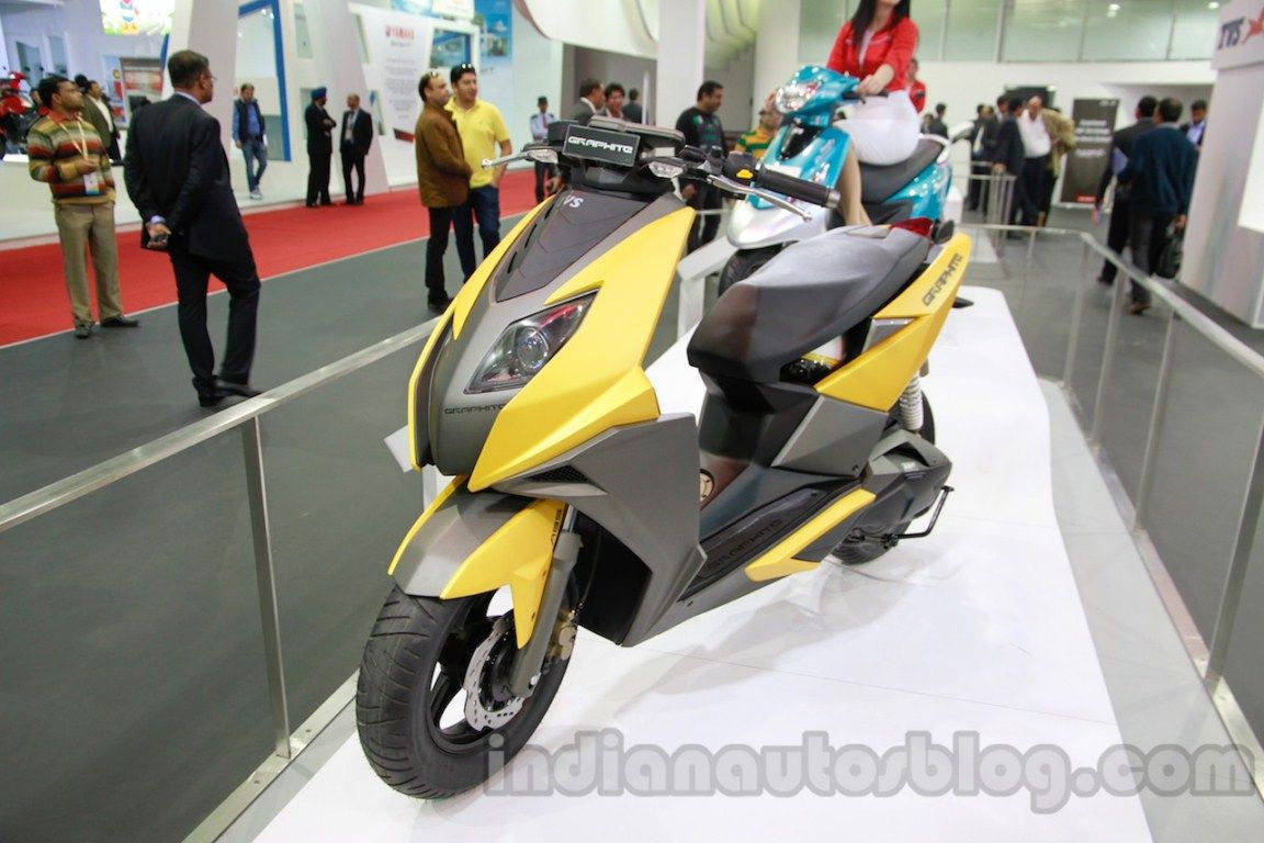 A report in business standard claims that tvs has received a patent for a hybrid two wheeler back in 2010 they had displayed the tvs qube as a concept of