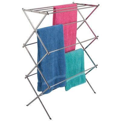Icke gamla Smart liten torkställning. Står stadigt och rymmer mer tvätt än YX-04