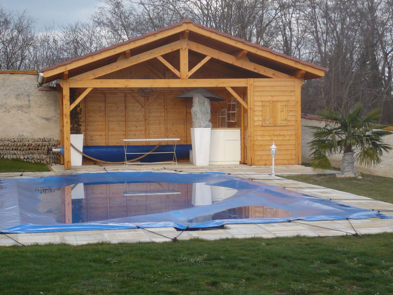 et si vous vous faisiez construire un pool house en bois pool house pinterest pool. Black Bedroom Furniture Sets. Home Design Ideas