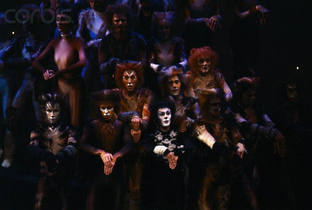 Cast of Cats at Awards Show  Broadway cast June 1983 | Cats