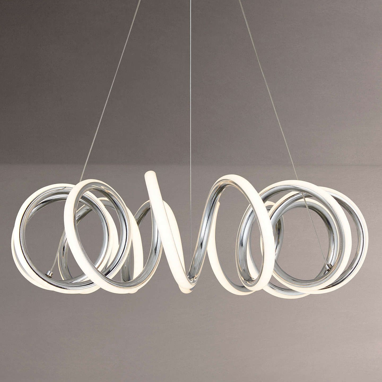 Dance globe shape crystal chandelier from John Lewis