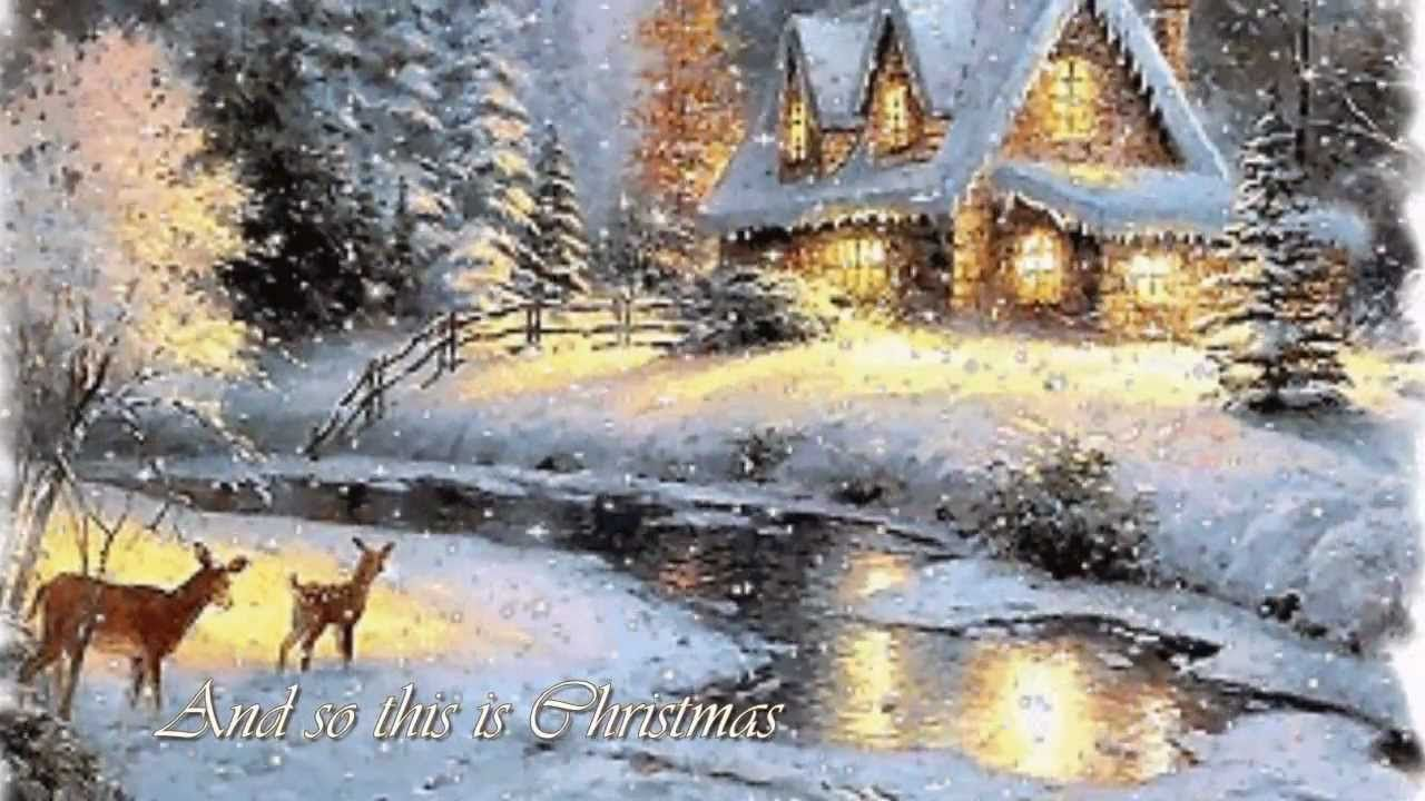 Celine Dion So This Is Christmas Lyrics Christmas Lyrics Christmas Music Celine Dion
