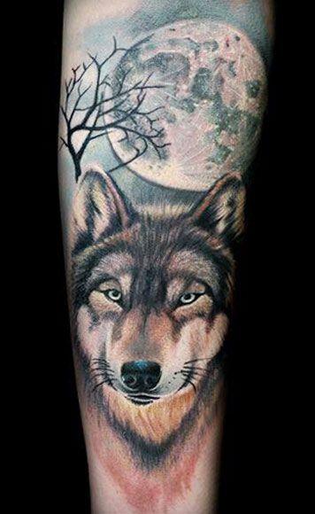 wolf tattoo by dzikson wildstyle tattoo pinterest. Black Bedroom Furniture Sets. Home Design Ideas