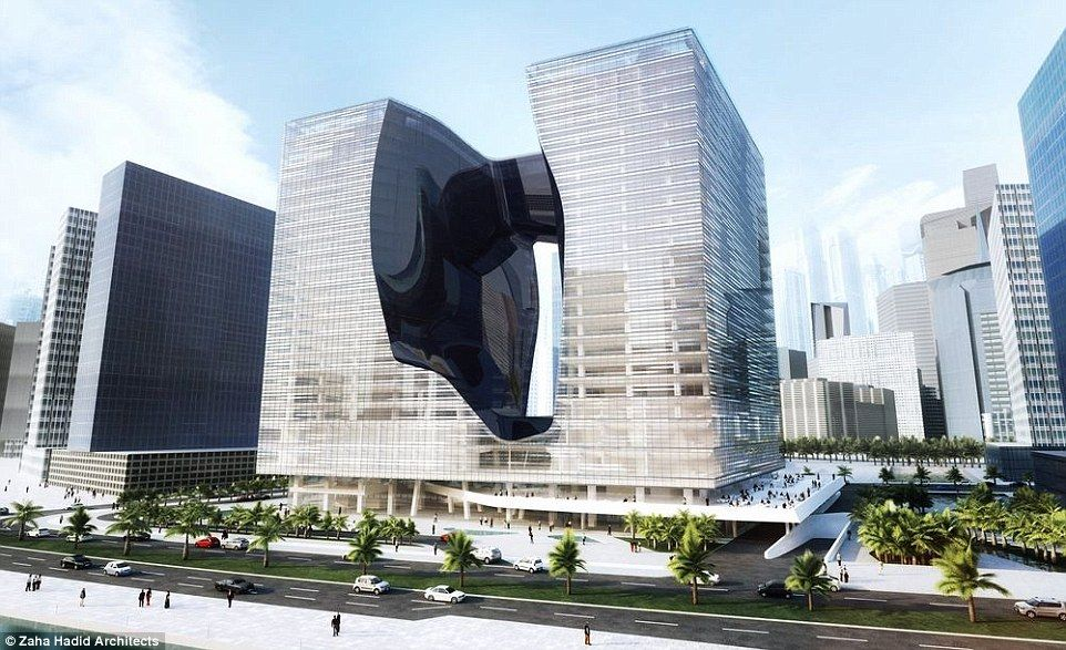 Image result for Luxury ME by Melia will be part of the Opus building, designed by the late Dame Zaha Hadid