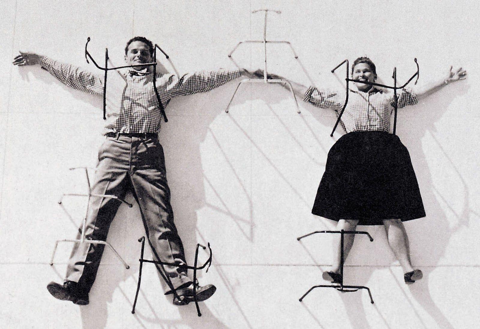 """Name: Charles and Ray Eames — """"Ikke Længere Søndag..."""", Agtigt (Retrieved: 11 June, 2012)"""