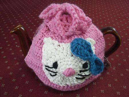 Tea Cosy by Vicki Pye Hello Kitty Tea Cosy