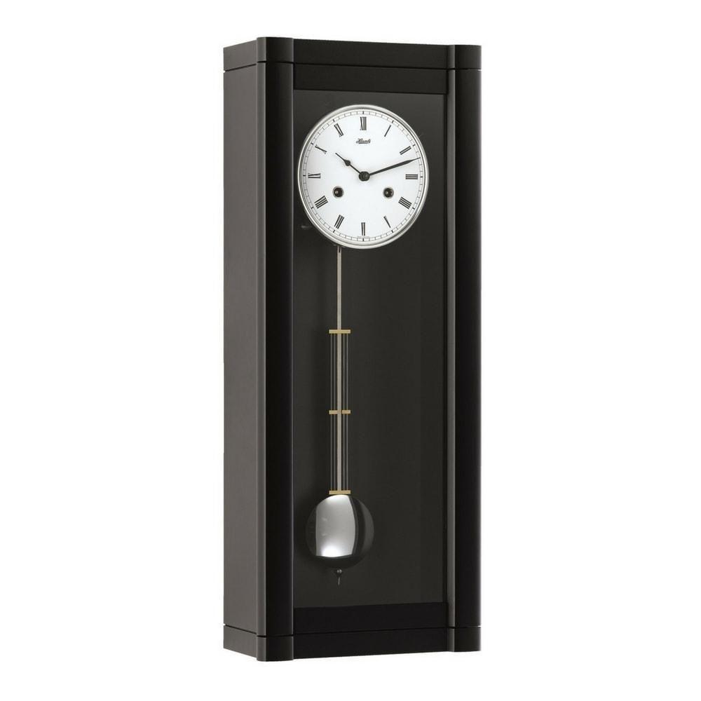 Hermle Rosslyn Regulator Clock 1 2 Strike Westminster Chimes 8 Day Reserve 70963740141 Black Clock Antique Wall Clock Clock Design