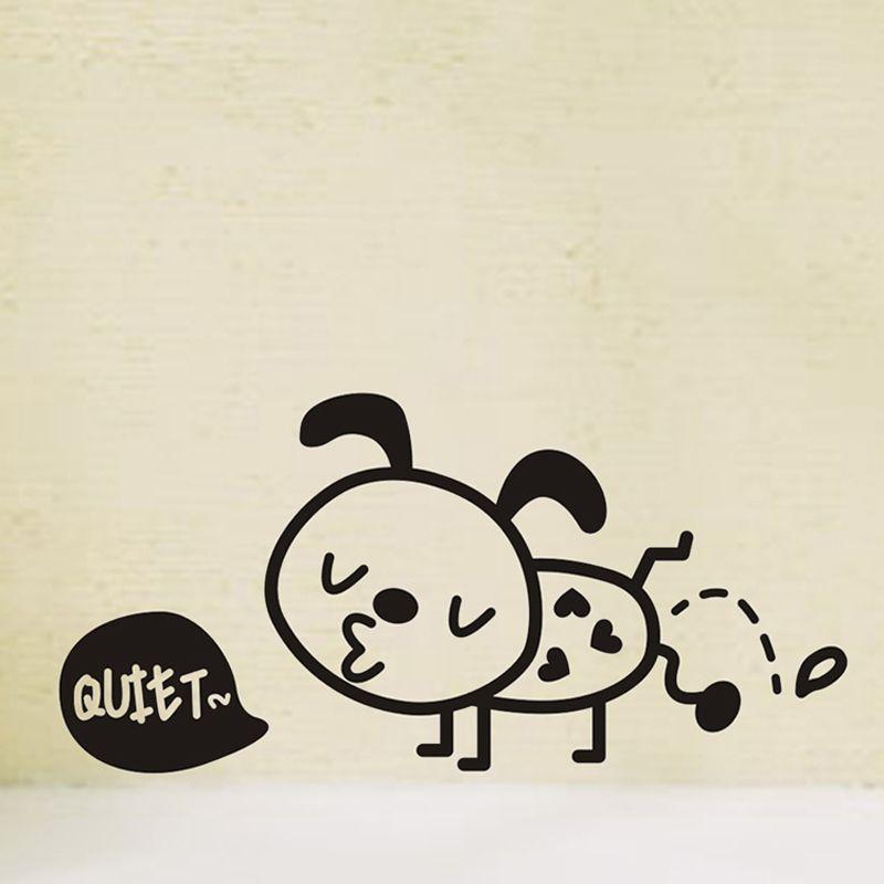 Creative Vinyl waterproof Small ants Wall Sticker Bathroom Switch