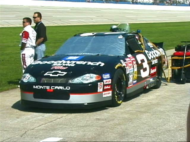 dale earnhardt 39 s car at talladega daleearnhardtmemorial. Black Bedroom Furniture Sets. Home Design Ideas