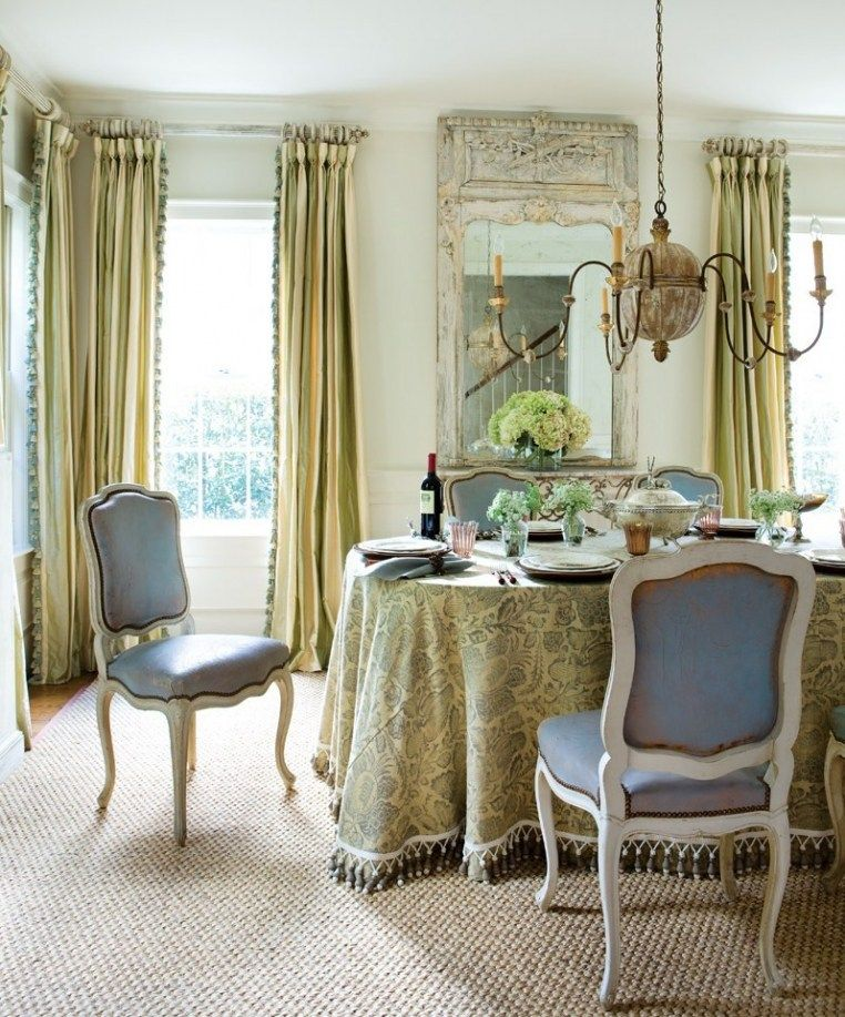 Beautiful Dining Room With Lovely Combination Of Colors And Textures