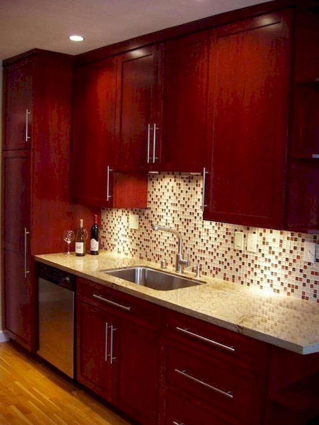 Best Tips Kitchen Cupboards For Your Kitchen Cherry Wood Kitchen Cabinets Cherry Wood Kitchens Cherry Cabinets Kitchen