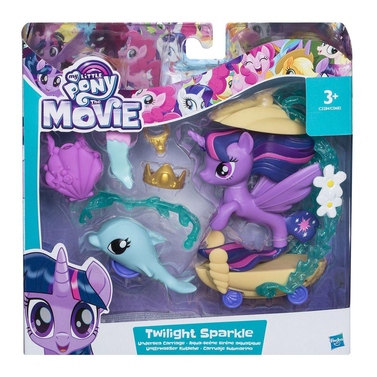 Figurine My Little Pony The Movie Scene Sous Marine De Twilight Sparkle Taille Taille Unique Jouet Twilight Sparkle Diy Amusant