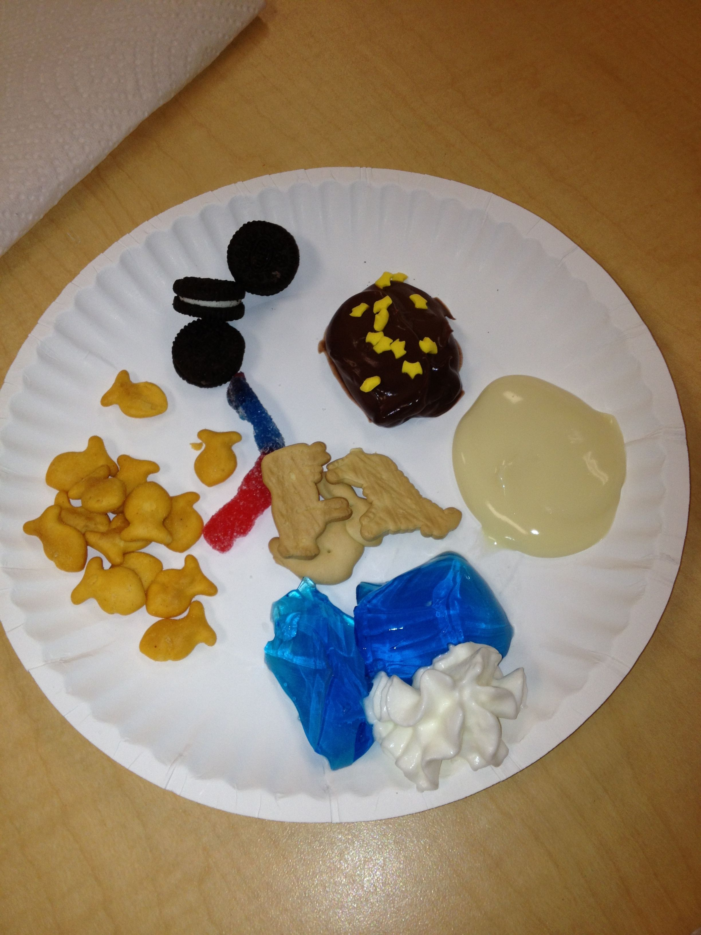 Creation Story Snack Day 1