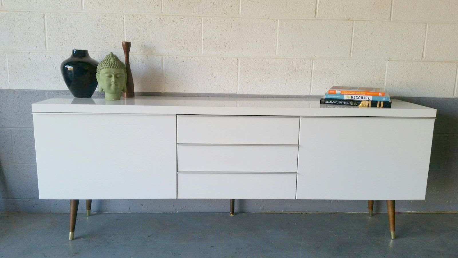 Credenza Vintage Ikea : Kallax grows up to be a glamorous credenza ikea hackers