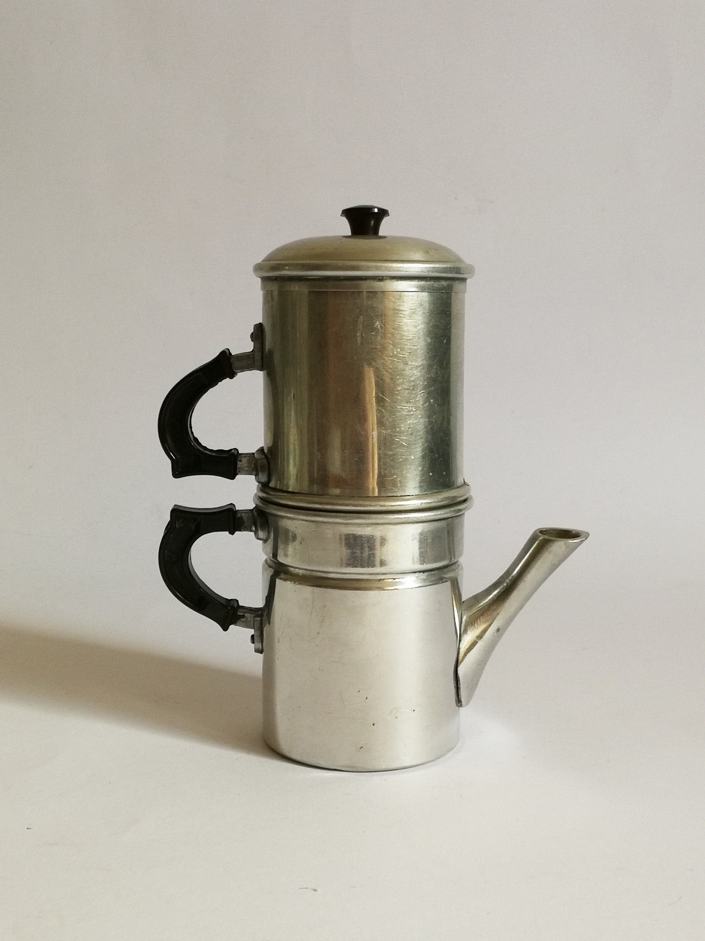 Traditional Neapolitan coffee maker 3 cups 50s made in