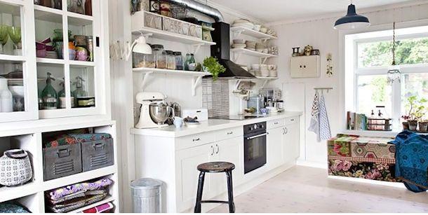 estantes para cocinas rusticas - Buscar con Google decoracion