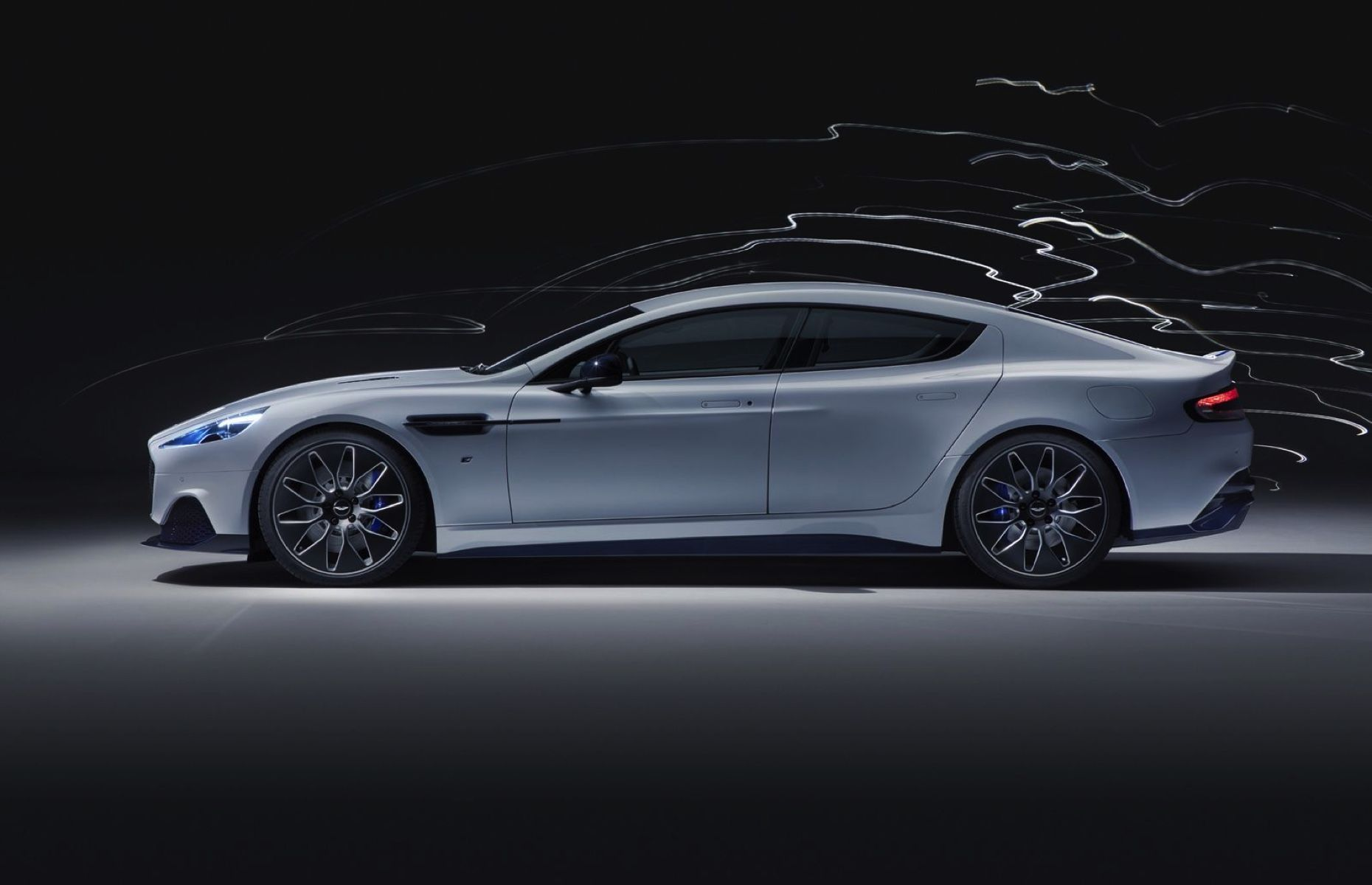 Aston Martin (finally) unveiled its first all-electric car, the Rapide E