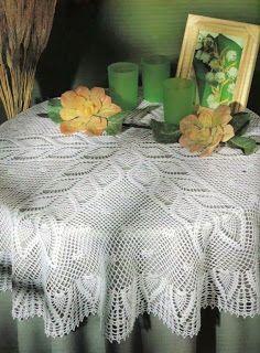 Pin Von Carmen Obando Auf Manteles A Crochet Pinterest Häkeln